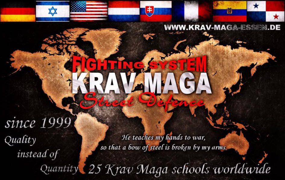 Fighting System Krav Maga Street Defence